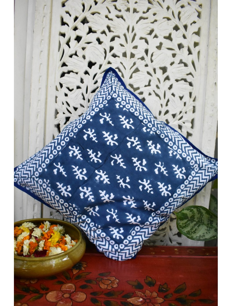 Indigo Cushion Cover