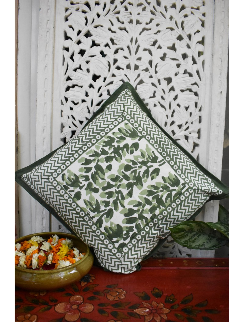 Olive Cushion Cover