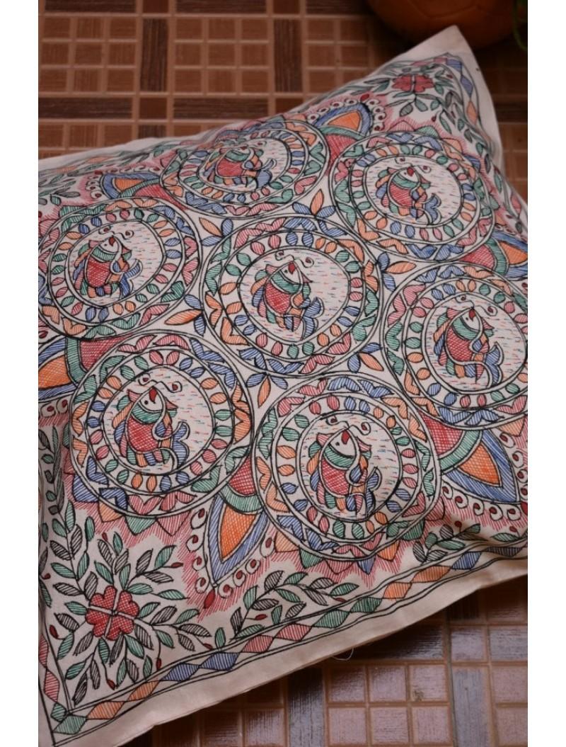 Matsya Cushion Cover