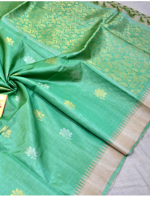 Aaradhya Green With Booti Intricate Work...