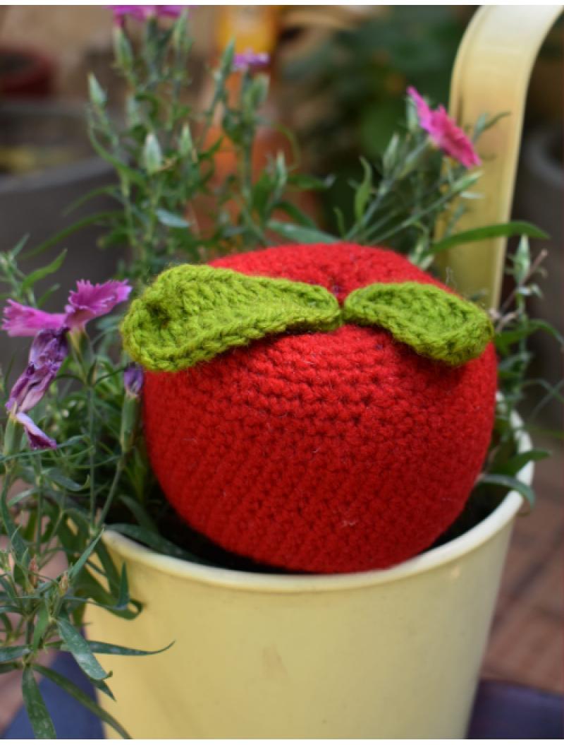 Crochet Handmade Apple