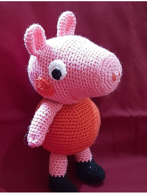Crochet Handmade Peppa Pig